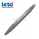 Double Head twin tips, fine point permanent marker Pen