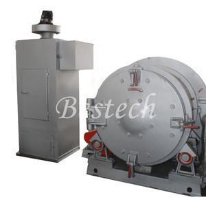 Tumblast Type Shot Blasting Machine , Rotary Drum Blasting