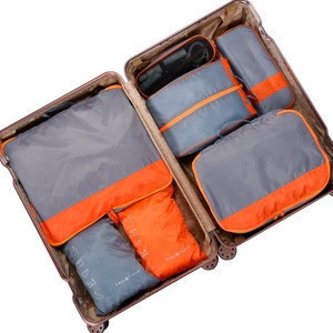 7 set packing cubes 7 piece waterproof packing cubes