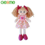 JM9053 Soft Plush Toy Girl Rag Doll