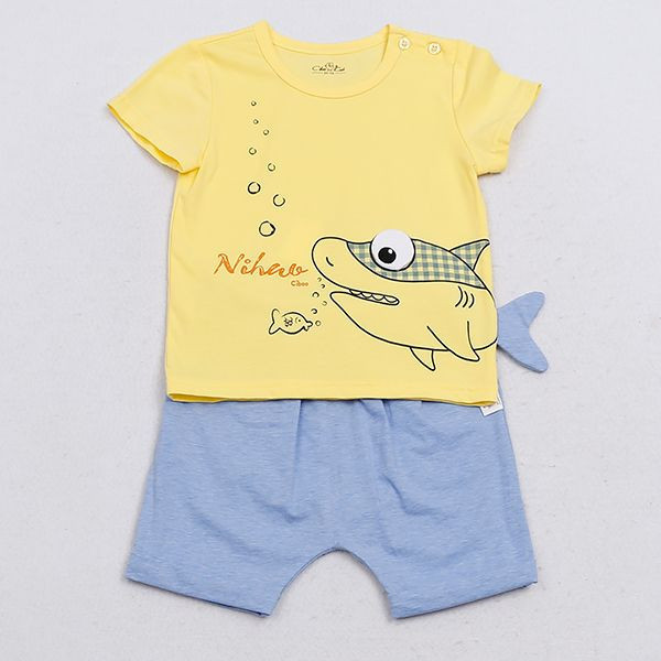 Import Baby Short Sleeve Baby Boy Shirts Boys Wear from China