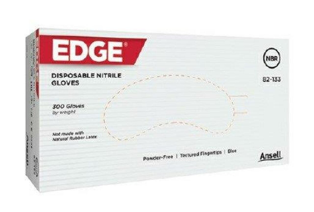 EDGE Nitrile-Gloves I Powder-Free Examination Gloves (300 gloves/box)