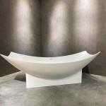 Acrylic solid surface bathtub freestanding bathtub hammock bathtub