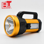 Battery Powered Hand Held Tactical Aluminum LED Rechargeable Searchlight