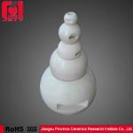 Industrial use precise alumina ball valve