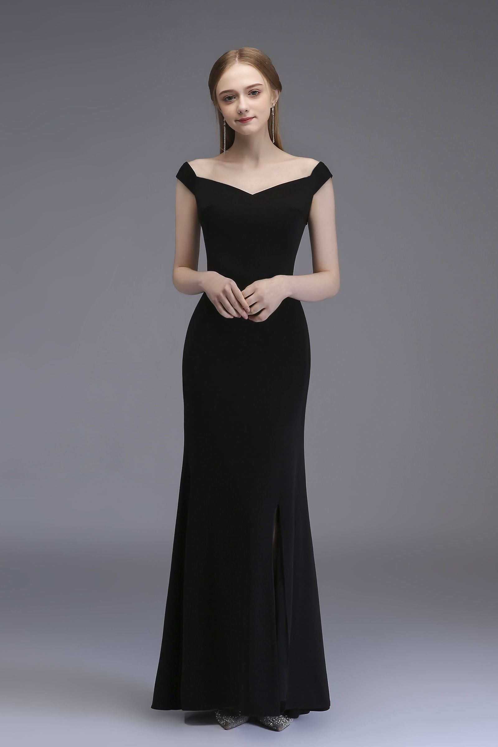 Black Long Prom Dress