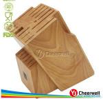 20 Slot Bamboo Universal Knife Block