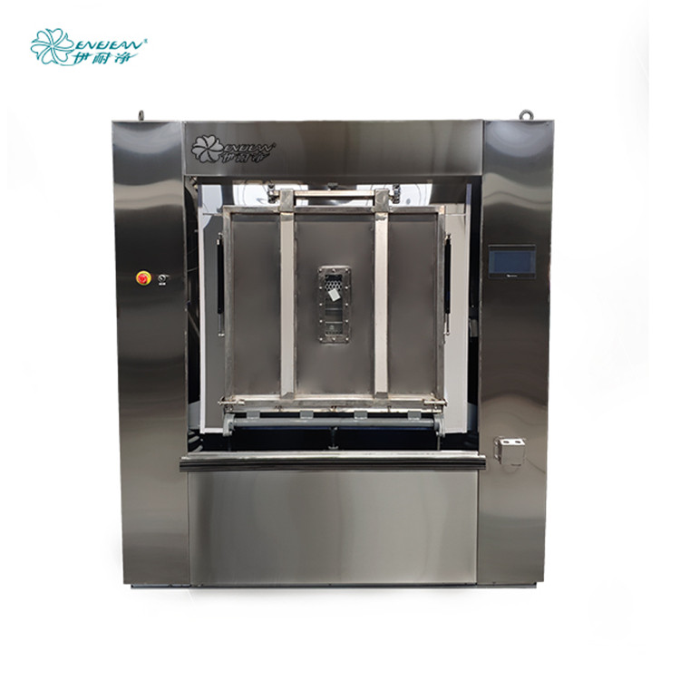 Commercial laundry equipment washers price sanitary barrier washing machine for hospital
