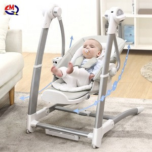 Multifunctional children's dining chair baby electric cradle chair baby rocking chair