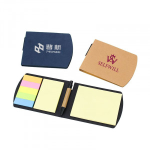 Colorful Sticky Notes With Pen