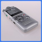 Exquisite mini digital voice recorder with LED backlight