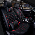Luxurious Universal PU leather 5d car seats cover