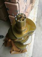 forged steel crankshaft for D2366/DE12,engine crankshaft,crank mechanism,truck crankshaft