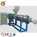 waste pvc plastic recycling granulation machine