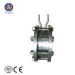 integral orifice plate flowmeter throttling device