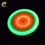 Light up LED Finger Spinner Fidget Toys For ADHD and Autism