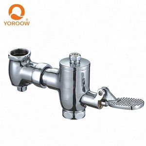 Moldova Easy Controlled foot step time extended toliet flush valve