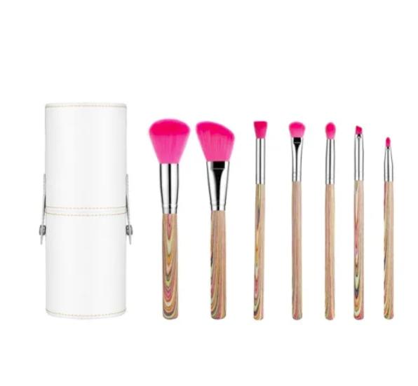 Hot Sell Vegan Makeup Brush Set Cosmetic Brush with Carry Jar