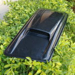 High- quality hotsale durable black thick vacuum forming plastic engine Cover HOOD/bonnet plastic car parts
