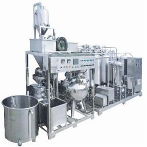stainless steel oat milk processing machine