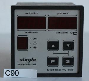 Import Digitemp mC 5100 RCQ 5100-12-111-0-S Temperaturregler Temperatursteuerung (C90) from USA