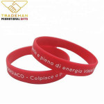 colorful top quality custom silicone wristbands