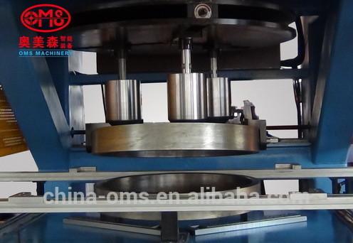 Sheet metal spinning processing machine (Edge bending machine)