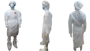 Safe Guard SPG-0505 Protective Gown