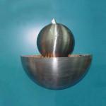 Garden Ceramic Granite Ball Water Fountain Sphere
