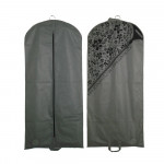Custom Luxury Cloth Dustproof Cover Suit Cover Garment Bag With Handle