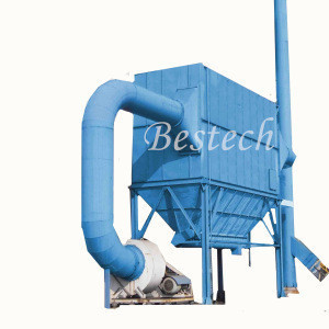 High Temperature Baghouse Pulse Jet Dust Collector For Furnace