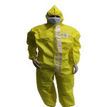 type 5/6 coverall for asbestos in microporous material