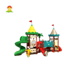 Hign quality best-selling outdoor playground equipment plastic slide