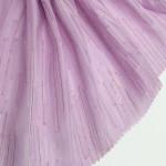 Hot sell 100% Polyester Woven metallic Lurex Plain Dobby Jacquard Silk Chiffon Fabric,Womens' Dress Shirt Fabric