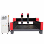 Hot style Multi-purpose Double Heads Stone CNC Router Double Spindle Head Stone Engraving CNC Router/ Stone Cutting Machine
