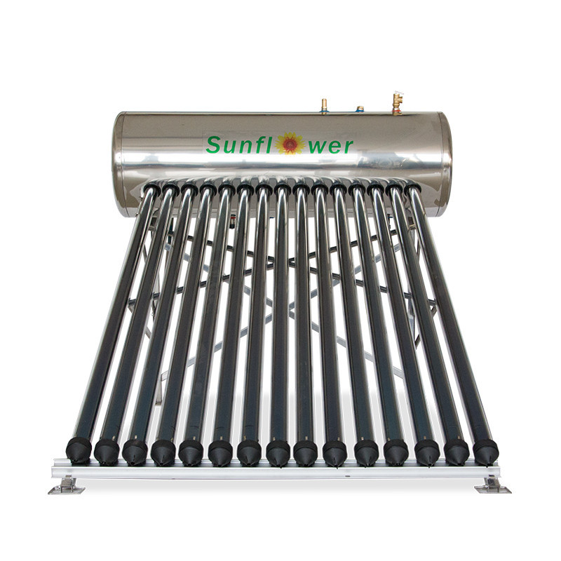 SFH200H 200L Integrated High Pressure Solar Water Heater Stainless Steel with Heat Pipe CE ISO for Project or Domestic Hot Water