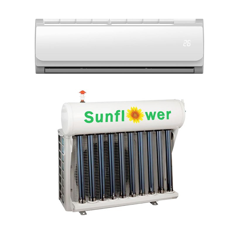 TKFR-35GW 12000btu Wall Mounted Solar Air Conditioner With Solar Collector Or Solar Flat Panel With Grid Power For Refrigeration