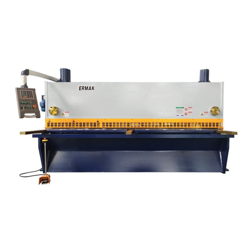 Auto 4mm 6mm 8mm 12mm 16mm Iron Stainless Steel Plate Sheet Electric CNC Metal Hydraulic Shearing Machine