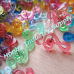 Office art supplies wholesale transparent plastic decorative pin