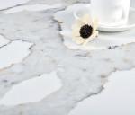 China Manufacturer High Standard Calacatta White Quartz Stone Slab Vanity Top