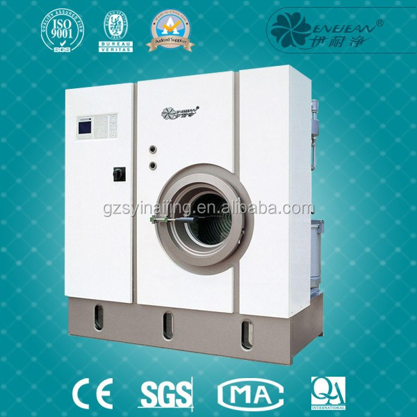 Commercial dry cleaning machine & laundry shop used dry cleaning equipment