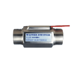Differential pressure adjustable electrical control water flow switch for equipment
