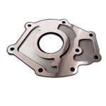 High quality CNC machining milling customized 2024 Billet Oil Pump Backing Plate for racing