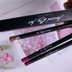 Hot sale private label lip gloss matte natural waterproof lip glaze lip liner 2-in-1 High Pigment Matte Lipliner Pencil