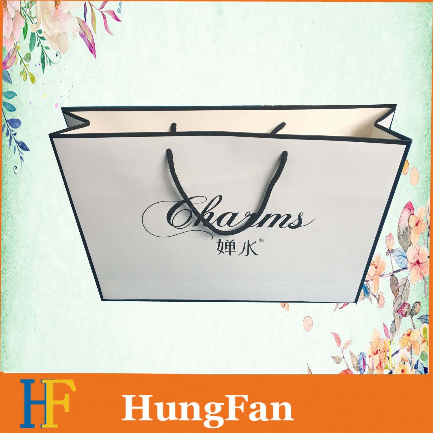 Professional Customized Paper Shopping Bag for Packaging