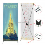 Trade show light economic advertising 80*180cm x banner stand
