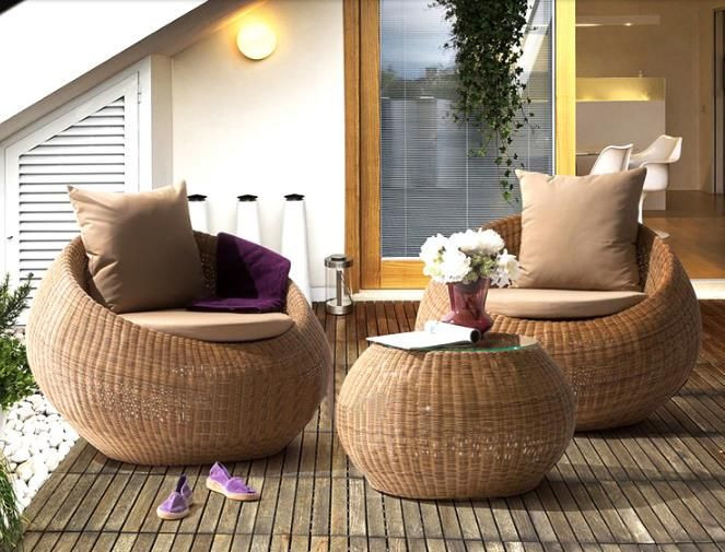 High Quality Natural Rattan and Wicker Sofa Furniture Sets Cheap price Wholesale from Vietnam Table and Chairs