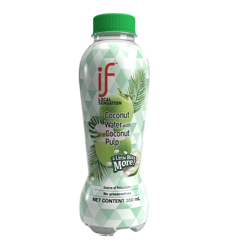 Premium Coconut Water with Pulp | Naturally Hydrating | No Preservatives | Halal Certified | 24 pack | 11.8 OZ
