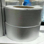 Aluminum foil polymer self-adhesive butyl rubber waterproof tape