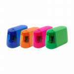 colorful battery operated pencil sharpener for children